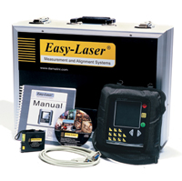 Easy-laser® e420 shaft alignment demo youtube.